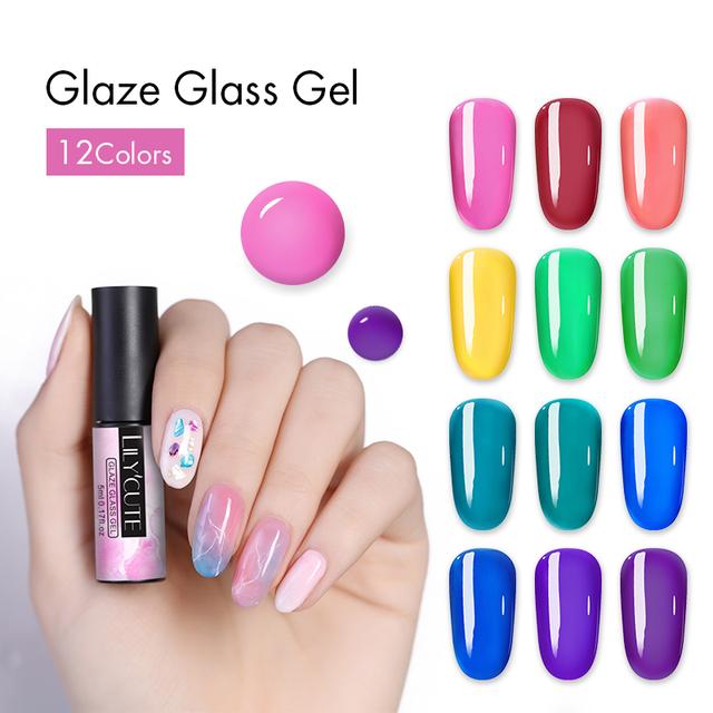 LILYCUTE 5ml Glaze Glass Gel