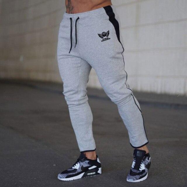 Pantalon Homme Jogger Pants Men Fitness Bodybuilding Pants Pantalones Hombre  Sweatpants Trousers Men 4