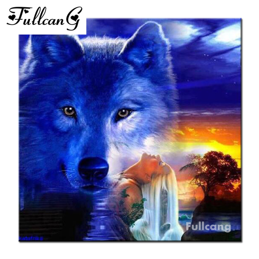 схема для вышивания крестиком волк онлайн