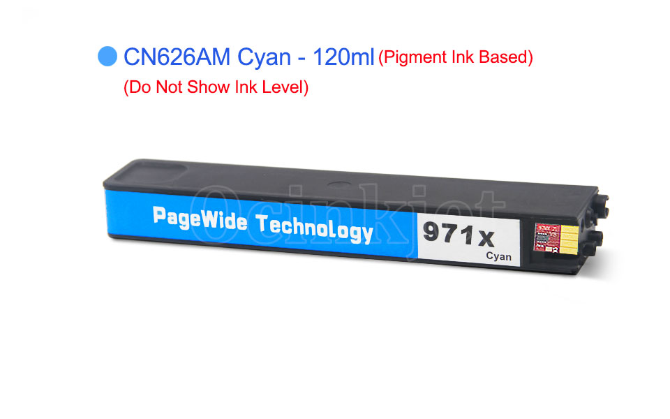 Remanufactured Ink Cartridge for HP 971XL CN626AM Cyan