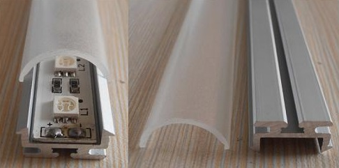 1М ЛЕД светлосни алуминијумски профил - Расветни прибор