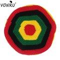Quality Winter Beanie Hat Jamaica Rasta Reggae Hand-woven Baggy Warm Beanies for Women Mens Bonnets Toucas De Inverno S-MZ00791
