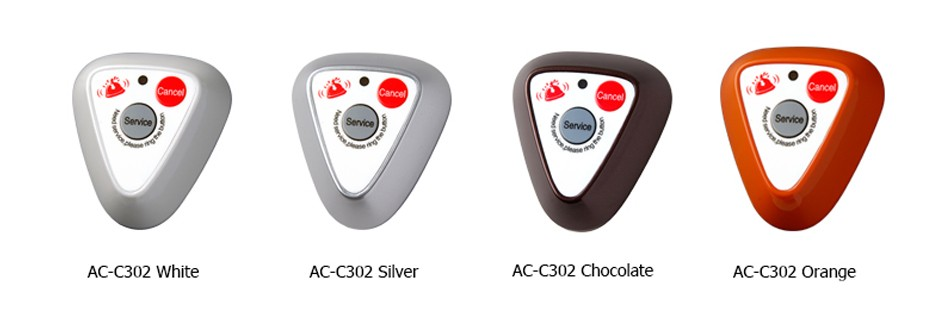 Call Button AC-C302 Colors