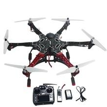 F05114-AQ de $ number ejes Aviones RC Helicopter RTF Hexacopter Drone con AT10 TX/RX 550 Marco GPS APM2.8 Vuelo Controlador de Batería
