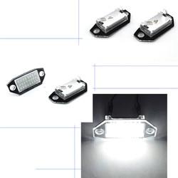 2Pcs Car License Plate Light Led Light Bulb For Ford Mondeo MKIII44/5D 2000-2007 12V 24SMD LED Number License Plate Lights Lamp