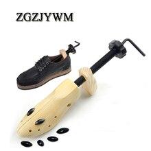 ZGZJYWM 1 шт. носилки деревянный обувь Дерево Shaper стойки, дерево Регулируемый туфли на плоской подошве сапоги и ботинки для девочек Expander ёлки раз