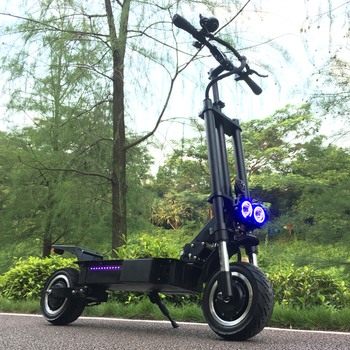Nuevo patinete eléctrico FLJ con asiento de 3200W, neumático grueso de carga rápida, patinete eléctrico para adultos