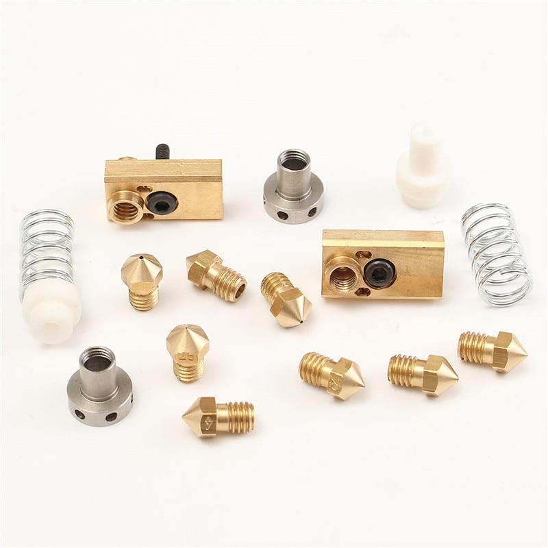 NEW DIY 3D Printer for Ultimaker 2+UM2 Extended + Block Kit for 1.75/3.0mm filament Heaterblock hotend interchangeable nozzle