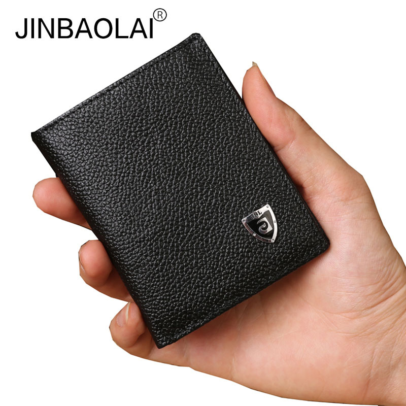 2017 Mini Genuine Leather Wallets Famous Brand Purse Male Thin Wallet Coin Purses Walet Carteira Feminina for Men 2016 purse famous brand zipper wallets genuine leather bag wallet male purse card case men and ultra thin carteira