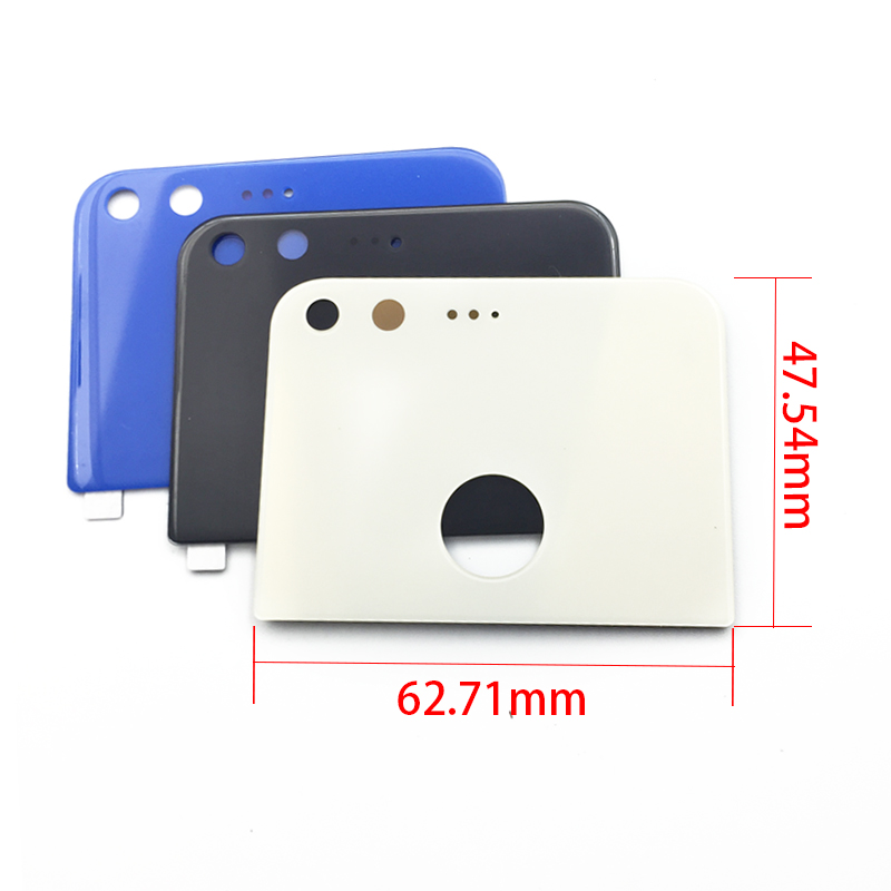 Back Rear Camera Glass Lens Cover Housing Parts For Google Pixel 5.0