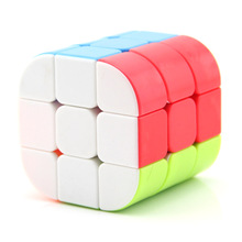 Moyu 3x3x3 5.6 cm Pan-new Cylinder Neo Cube Shaped Smooth Decompression Fun Creative Fidget Cubes Puzzle Toy кубик рубика