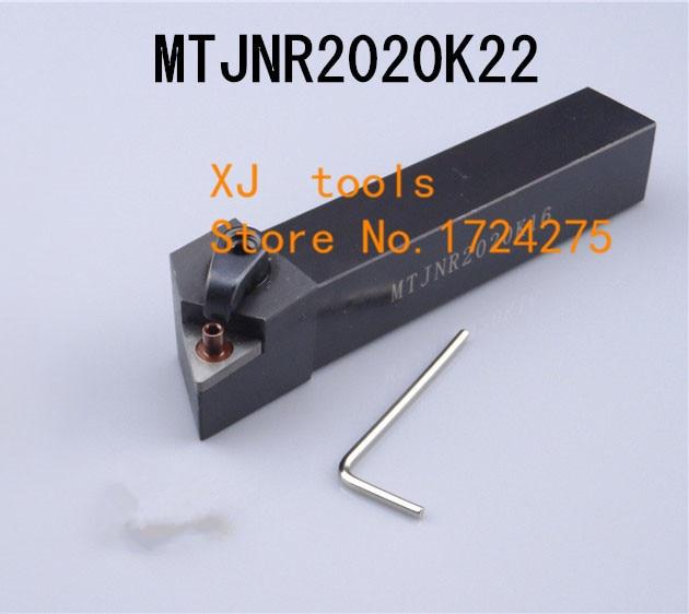MTJNR2020K22 / MTJNL2020K22 Metal Lathe Cutting Tools,CNC Tool Cylindrical Turning Tool, External Turning Tool,Type MTJNR/L