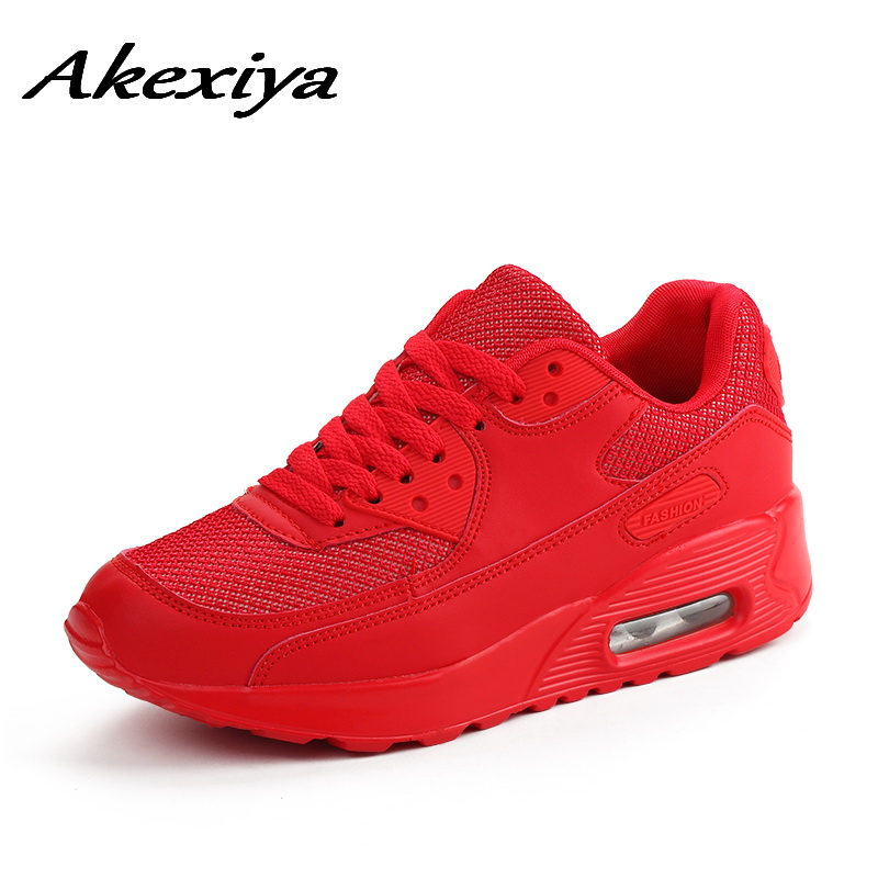 AKexiya 2019 SPORT SHOES WOMAN sneakers red Ladies Running Shoes Air Cushion Outdoor Athletic female shoes sports basket femmeAKexiya 2019 SPORT SHOES WOMAN sneakers red Ladies Running Shoes Air Cushion Outdoor Athletic female shoes sports basket femme