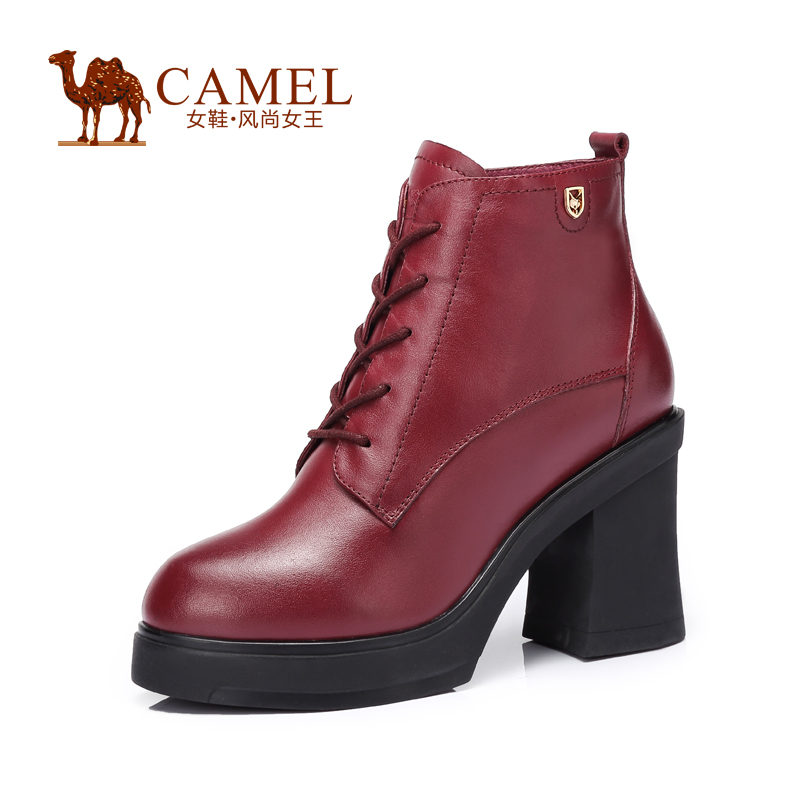 camel s leather boots stylish and cow