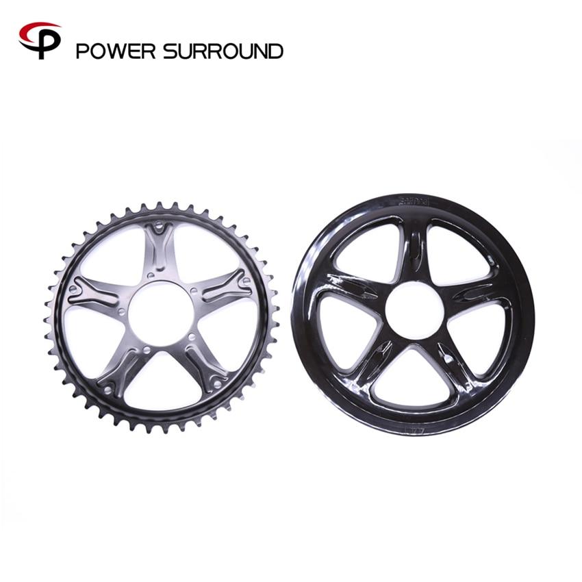 2018 Sale New Bafang 44t Chain Wheel For 8fun Motor Kit Bbs01/02 Electric Bike