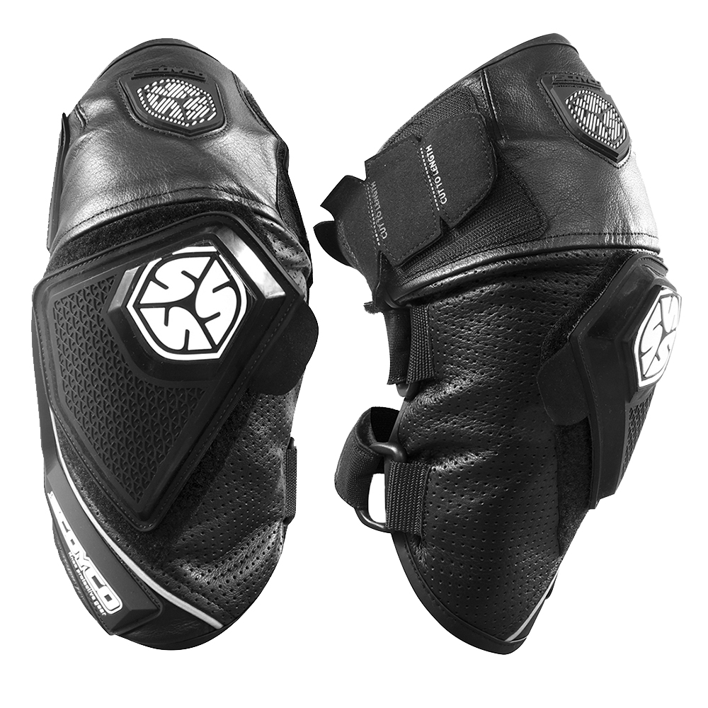 SCOYCO Motorcycle Knee Protective Gear Leather Motocross Pad Knee Pads Breathable Moto Knee Protection Black Knee Brace Support adjustable sport magnetic keen protection pad brace black
