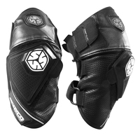 SCOYCO Motorcycle Knee Protective Gear Leather Motocross Pad Knee Pads Breathable Moto Knee Protection Black Knee Brace Support