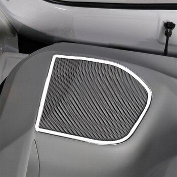Cubierta de accesorios de estilo de coche para Toyota Prius V ZVW40 con decoración de altavoces de acero inoxidable SUS304|accessories accessories|accessories for toyota|accessories for -