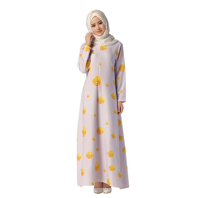 7abf21a998b13 US $23.8  New Fashion Muslim Dress Female Islamic Garment Light Purple  Ethnic Clothing Women Long Gown robers MSL045-in Islamic Clothing from  Novelty ...