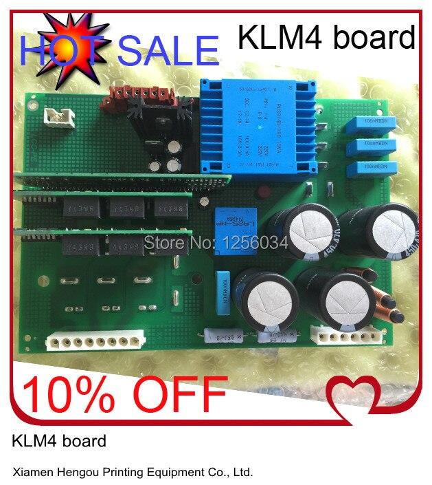 2 pieces high quality latest board KLM4 Heidelberg parts klm4-1 00.781.4754 00.785.0031 M2.144.2111