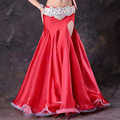 New belly dance costumes sexy senior ice silk belly dance skirt  for women belly dancing skirts free to make TH210B
