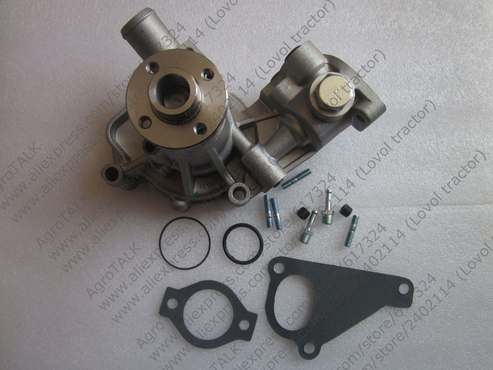 Yanmar water pump with gasket, reference 13509,813509 kubota water pump with gasket reference 15321 73032