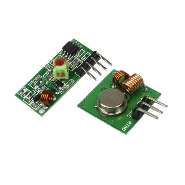 433Mhz RF Transmitter and Receiver Module Link Kit /ARM/MCU WL Diy 315MHZ/433MHZ Wireless