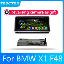 Car Android System 1080P IPS LCD Screen For BMW X1 F48 2016~2017 NBT Car Radio Player GPS Navigation BT WiFi AUX gps navigation auto radio multimedia player for bmw x1 f48 2016 2017 nbt system 10 25 ips screen android 8 1 px6 vehichle navi