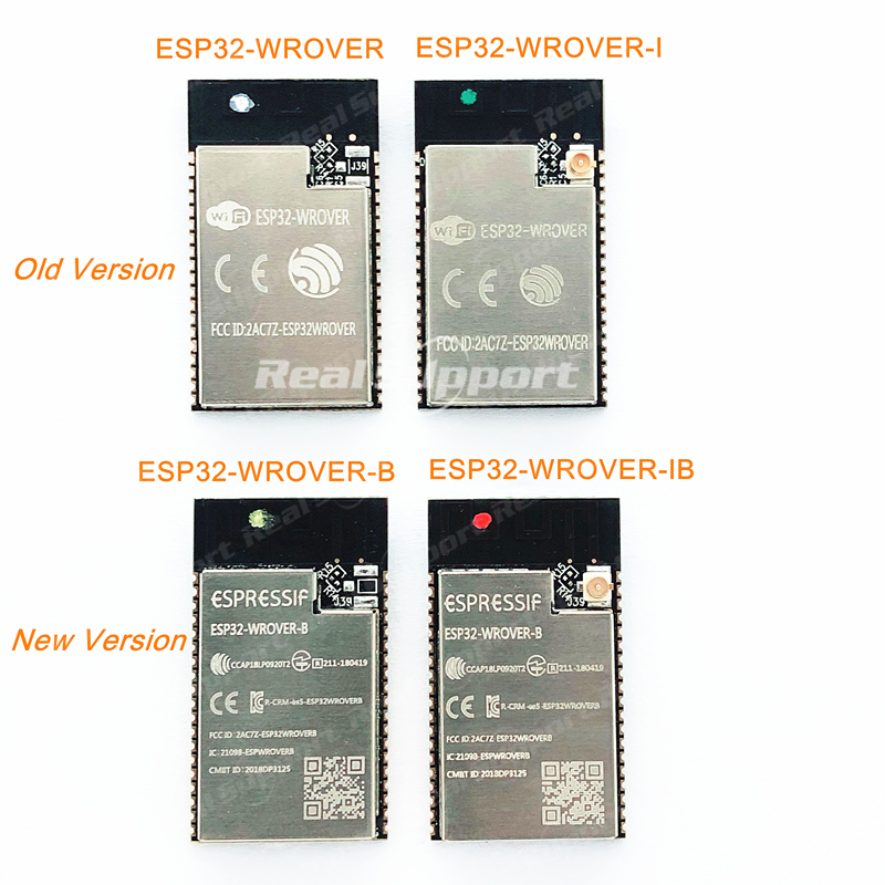 ESP32-WROVER-I -B -IB ESP32 WROVER Module Original Smart Home Automation WiFi Wireless Module For IOT Product