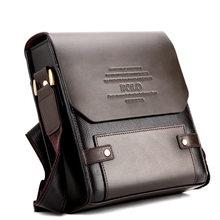 67c4f2a3b76a Famous Brands Polo Retro Fashion Men Shoulder Bag Leisure Business Handbag  Messenger Bag Men PU Leather in Men s Crossbody Bags