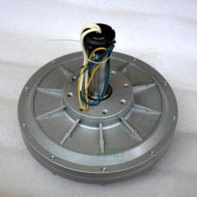 500 W 150 200 350 RPM 24 48 96VDC tua bin gió thẳng đứng nam châm vĩnh cửu phát điện coreless hộ gia đình TỰ LÀM máy phát điện động cơ