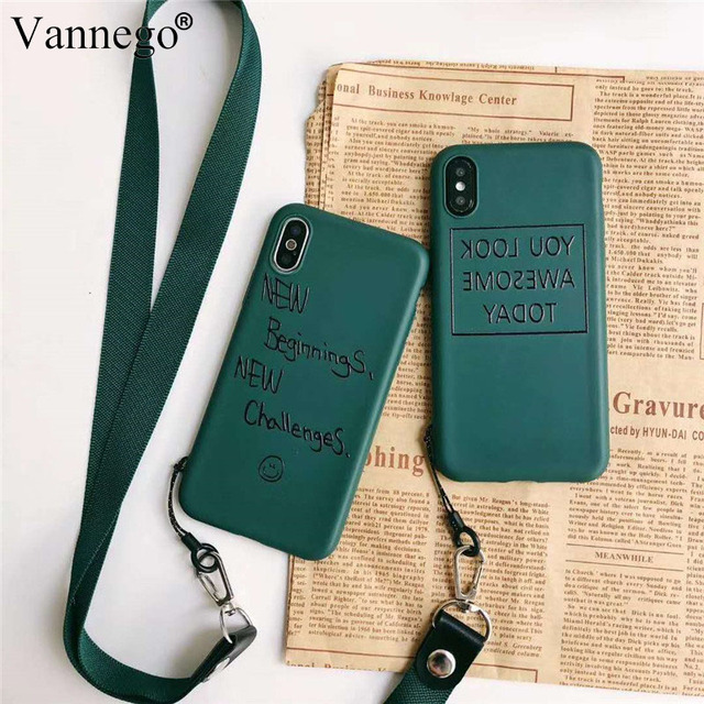 cheap for discount d8fb1 bdbdb Vannego phone case for iphone XS XR Xs Max back cover with straps simple  fashion cover case for iPhone Xs Max MR XS funda