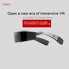 GLAXXES VR all-in-oneความจริงเสมือนแว่นตา3Dที่สมจริงหมวกกันน็อคvrกล่องหัวหน้าเมาandroid 5.1ระบบ16กรัม+ 128กรัมพื้นที่