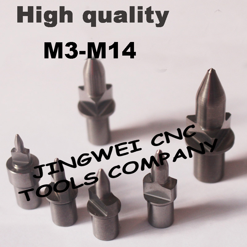 High quality Flat type Tungsten Carbide flow drill form drill M3 M4 M5 M6 M8 M10 M12 standard and short type tungsten carbide america and imperial pipe thread flow drill form drill npt bsp g 1 16 1 8 1 4 standard round type