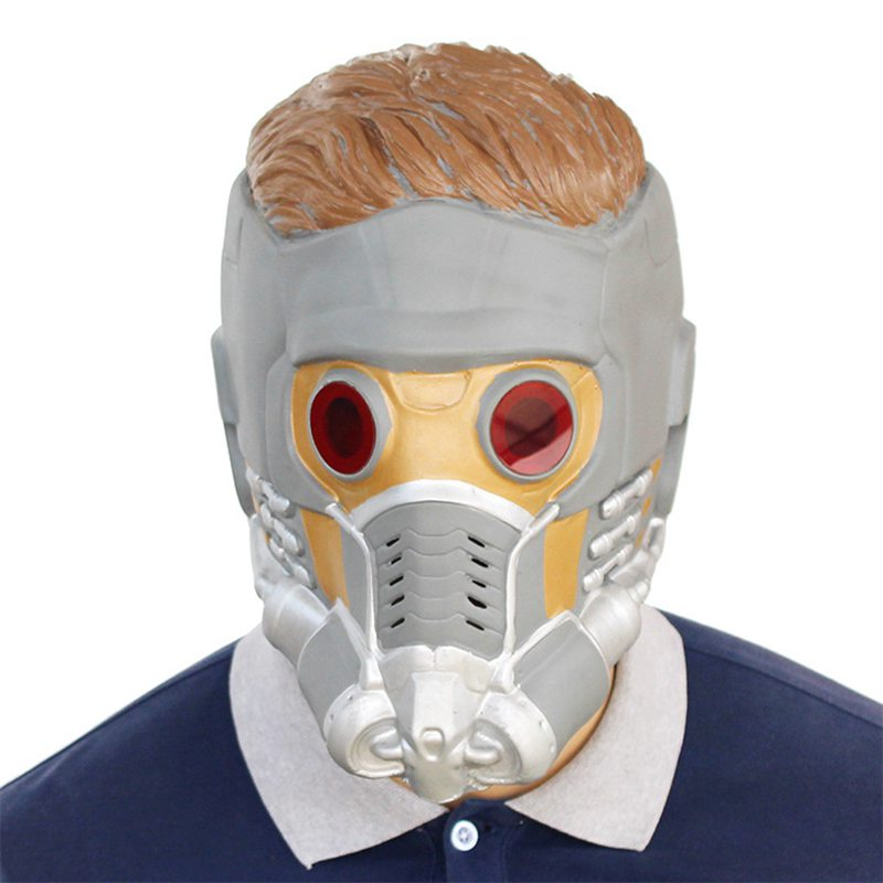 Movie Avengers 3 Infinity War Star-Lord Cosplay Masks Guardians of the Galaxy Peter Jason Quill Superhero Latex Props Halloween