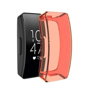 Image 2 - Soft Smart Watch Replacement TPU Case For Fitbit Inspire HR Full Cover Screen Protector For Fitbit Inspire HR Watch Accessories