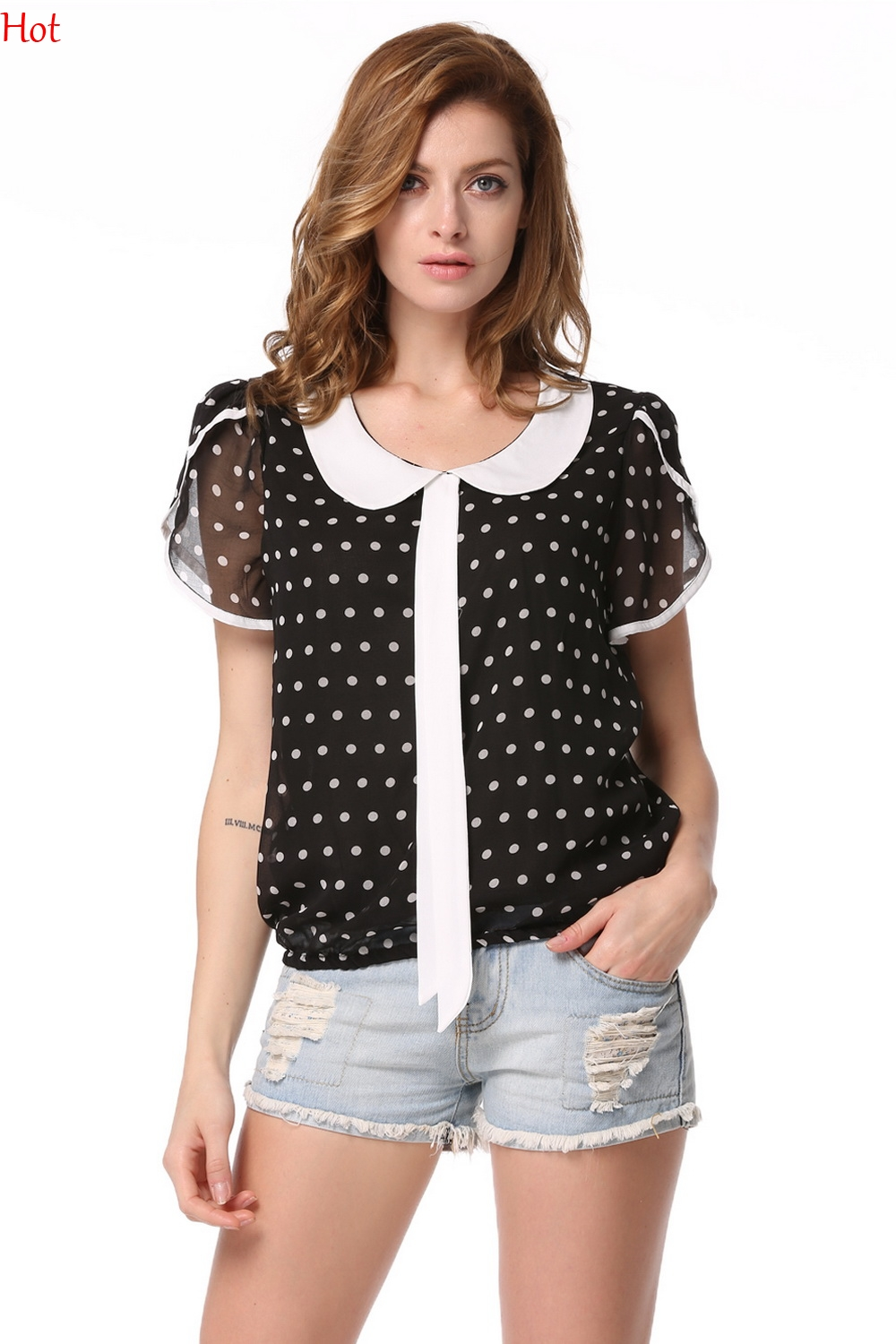 Shop for and buy polka dot blouse online at Macy's. Find polka dot blouse at Macy's.
