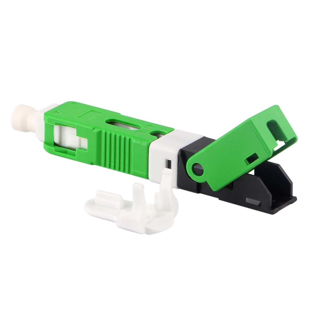 100pcs fast connector SC APC field assembly quick conector SC APC fiber optic fast connector