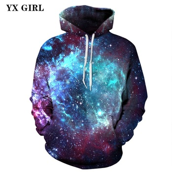 New Fashion Women Men 3d Universe Galaxy Hoodies Pullovers Autumn Spring Sweatshirts Unisex Casual Hoodies Drop Shipping S-3XL