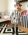 Outono inverno roupas crianças novas crianças bonitos do bebê das meninas do menino de veludo espessamento casaco camisola camisa do bebê de algodão macio