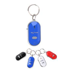 Mini Smart key Finder Keychain Wallet Phone Finder Flashing Beeping LED With Whistle