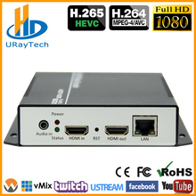 HEVC HDMI Video Audio IPTV Encoder H.265 H.264 Live Broadcast RTMP Encoder HDMI To RTMP RTSP HLS ONVIF UDP Transmitter H264 H265 mpeg4 hdmi to ip live streaming video encoder h 264 rtmp encoder hdmi encoder iptv h264 with hls http rtsp udp