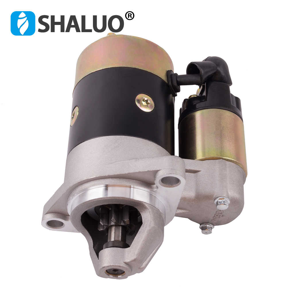 QD114A Diesel Engine Motor Starter 12V 0.8KW Copper Used On 170F 178F 186F Engine Starter Motor Generator Parts DHL free