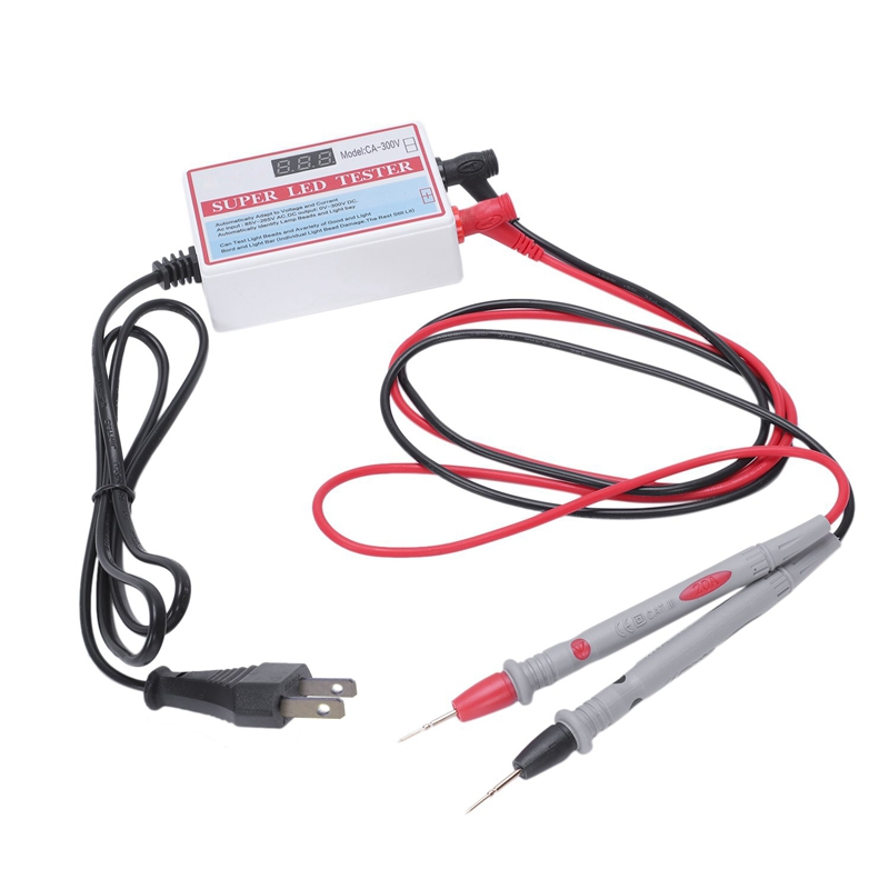 0 300V Output Super Led Tester 24W Led Strips Tester Led Beads Detect Tool Repair Tools For Tv Monitor Laptop Repair With Swit|Circuit Breaker Finders| |  - title=