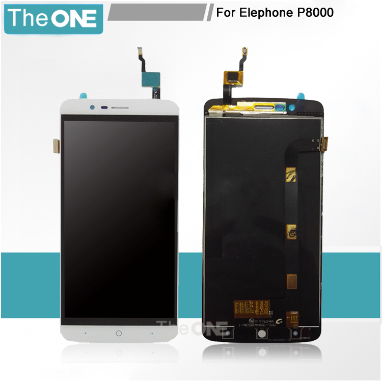 5 pcs For Elephone P8000 LCD and Touch Screen Assembly Perfect Repair Parts for Elephone P8000 Free Shipping