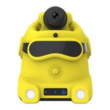 Mobile Surveillance Camera Robot for Baby Monitor & Elder Care Self Patrol with High Fidelity Speaker & Human Motion Detection