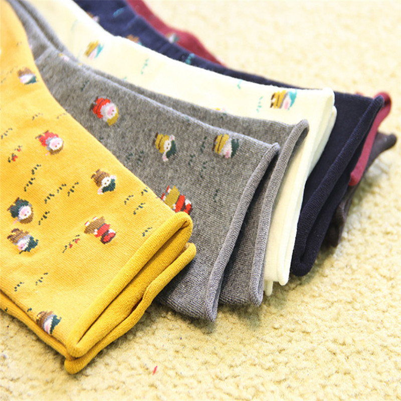 snowshine YLWChristmas Women Female Girl Casual Socks Cute Unisex Cotton Soft Breathable Winter Warm Socks