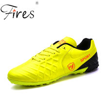 Incendios marca profesional Zapatos De fútbol De césped para hombres al  aire libre Deportes Fútbol Zapatos Hombre verano Chuteir. 50f479dd32a4c