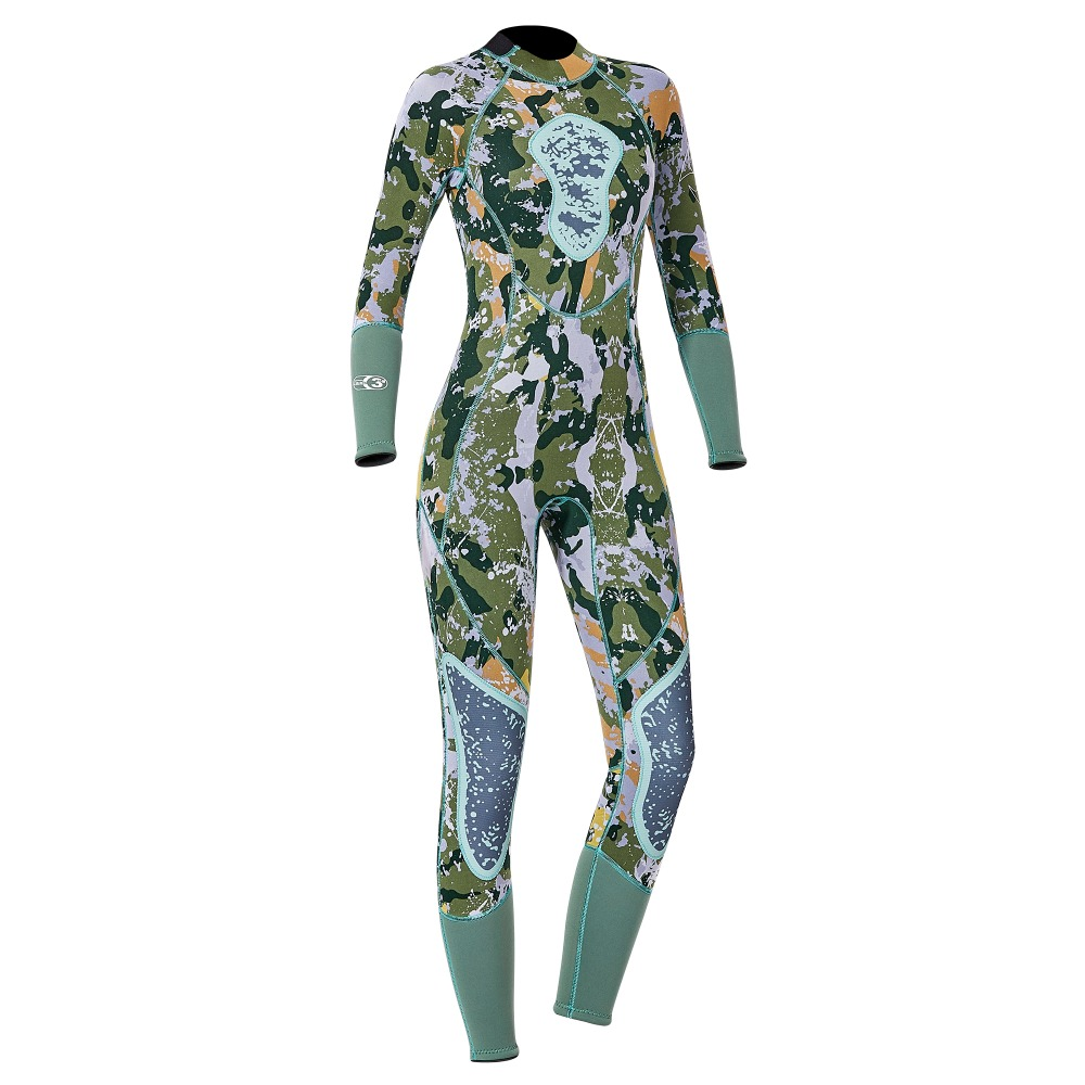 DIVE SAIL NEW ARRIVAL 3MM Men Women Wetsuit Camo Neoprene Wet Suit for Surfing Swimming Diving