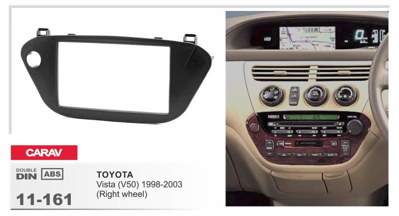 Frame android 6 0 car dvd for toyota vista v50 1998 2003 stereo heat units 4G